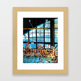 Welcome To The New World II Framed Art Print