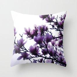 Magnolia Dreams Throw Pillow