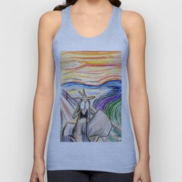 Squirrel Scream Unisex Tank Top