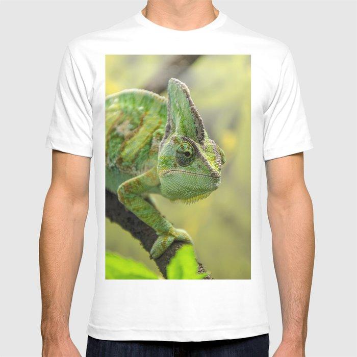 2b1e45b4b Veiled Chameleon T-shirt by picsl8   Society6