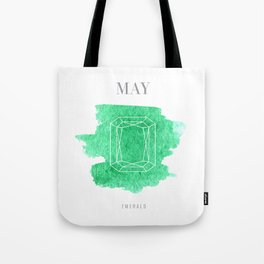 Emerald Birthstone Tote Bag