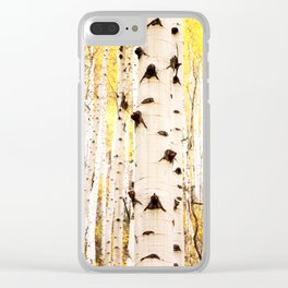 The Trees in Color Clear iPhone Case