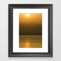 Golden brown1 Framed Art Print