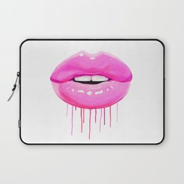 Pink lips Laptop Sleeve