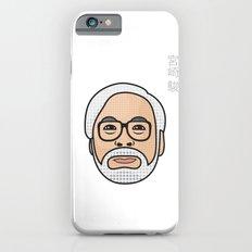Hayao Miyazaki Portrait - White Slim Case iPhone 6