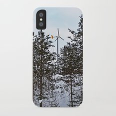 Windmill Through the Trees Slim Case iPhone X