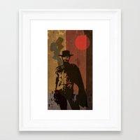 blondie Framed Art Prints featuring Blondie by Rabassa