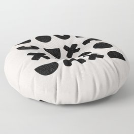 Earth Collection - Patterns Cross Square Floor Pillow