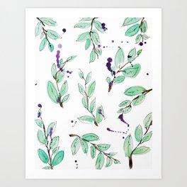 blazz studios: Spring Twigs Art Print