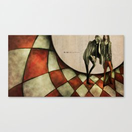 13th Floor with Diana Canvas Print