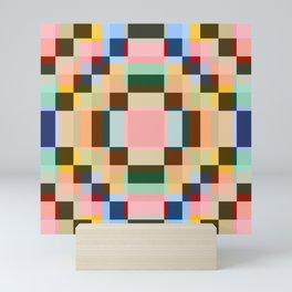 Geometric Mandala Shikome Mini Art Print