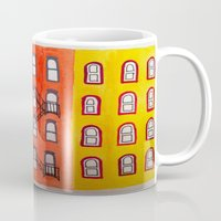 building Mugs featuring building by tmurriam