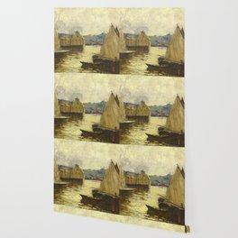 Arthur Clifton Goodwin Gloucester Harbor Wallpaper