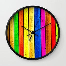 Wood Diversity Wall Clock