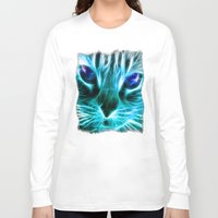 thundercats Long Sleeve T-shirts featuring Lightining Cat by Augustinet