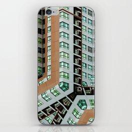 Graphic design futuristic residential iPhone Skin