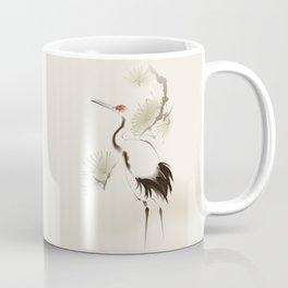 Oriental Red-Crowned Crane 002 Coffee Mug