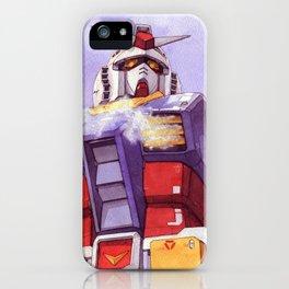 Gundam RX-78-2 iPhone Case