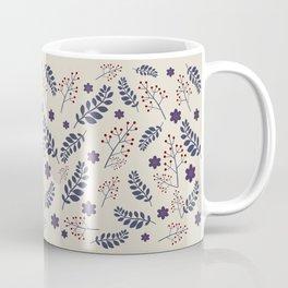 Dark plant pattern Coffee Mug