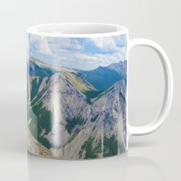 Views from the top of Sulphur Skyline in Jasper National Park, Canada Coffee Mug