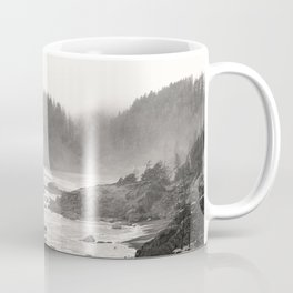 Pacific Ocean Beach Landscape Oregon Coast Northwest PNW Volcano Forest Nature Outdoors Basalt Wilde Coffee Mug