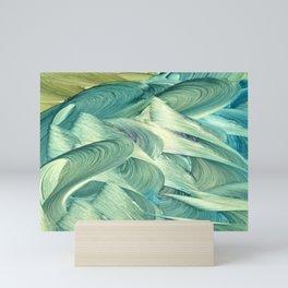 Blue Men Mini Art Print