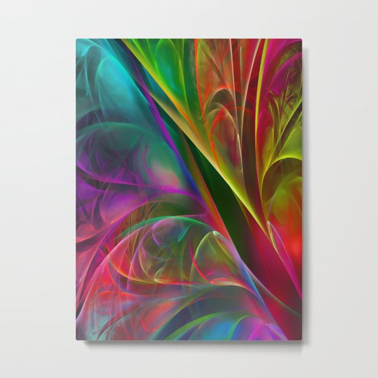 Fabulous Petals Metal Print