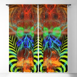 Atomic Psychedelia II Blackout Curtain
