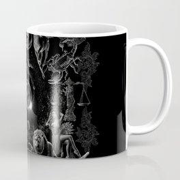 XXI. The World Tarot Card Illustration (Zodiacs) Coffee Mug