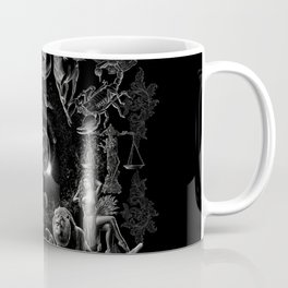 XXI. The World Tarot Card Illustration (Zodiacs) Coffee Mug