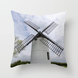 Ashton windmill Throw Pillow