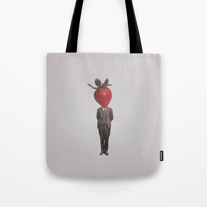 Strawberry Mugshot Tote Bag