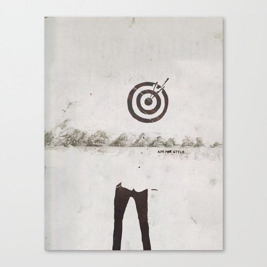 AimForStyle Canvas Print