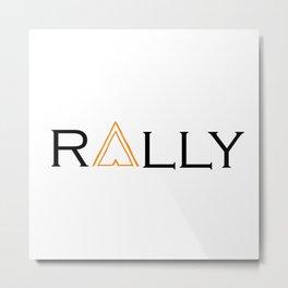 rally Metal Print