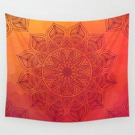 Sun Mandala Wall Tapestry