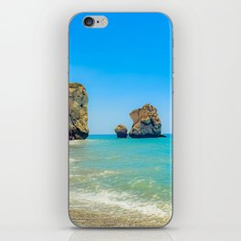 Cyprus Beach Scene iPhone Skin