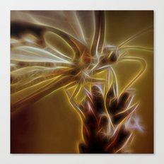 Electrified Butterfly Canvas Print