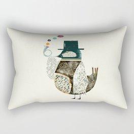the dapper bird Rectangular Pillow