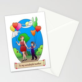 Mother's Day Card Stationery Cards