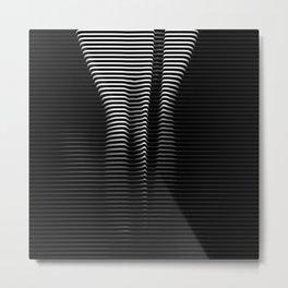 Everything is Black and White? #society6 #buyart #decor Metal Print
