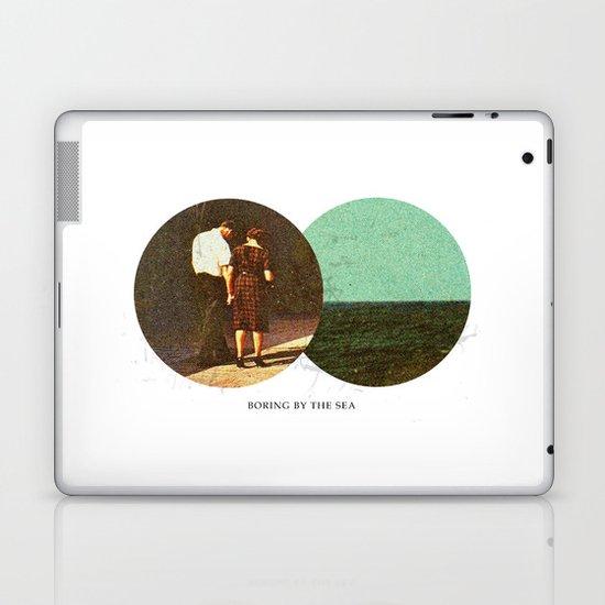 Boring by The Sea   Collage Laptop & iPad Skin