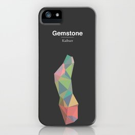 Gemstone - Kaiburr iPhone Case