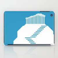 greece iPad Cases featuring GREECE by Marcus Wild
