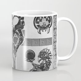 Metroid - Samus Aran Line Art Vector Character Poster Coffee Mug