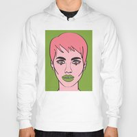 mod Hoodies featuring Mod by Grace Teaney Art