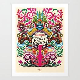 el PODER del JAGUAR Art Print
