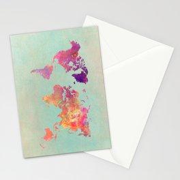 world map 102 #worldmap #map Stationery Cards