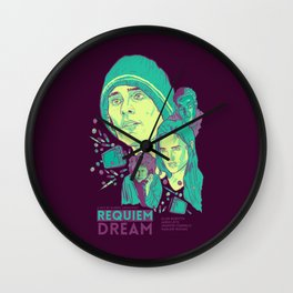 Requiem For A Dream Wall Clock