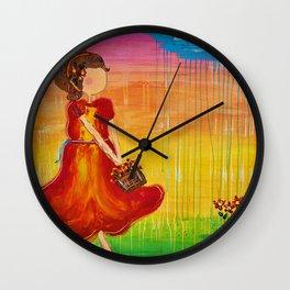 'Jodie' by Jolene Ejmont Wall Clock