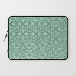 Baroque inspired green Laptop Sleeve